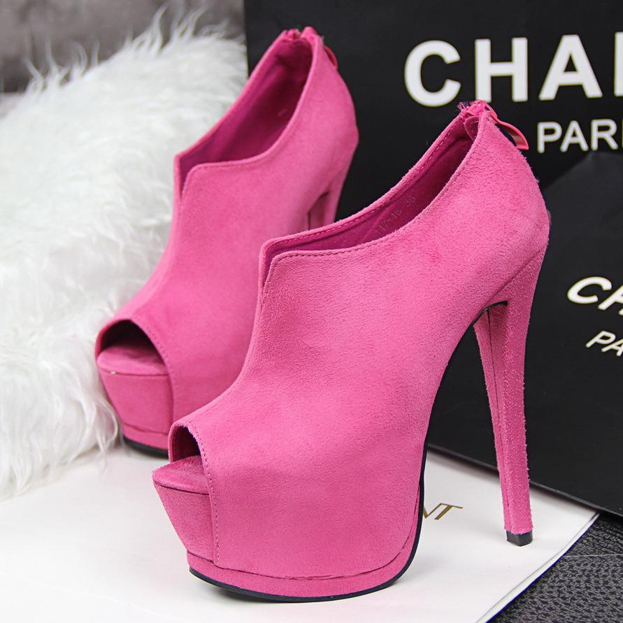 热卖低帮鞋粉红情趣新娘紫罗兰韩版夜店低跟跟鞋色酒红色情趣鞋人单鞋的做一个有图片