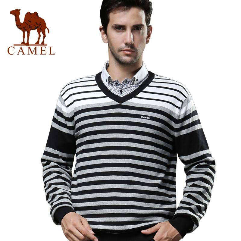 Свитер мужской Camel w12ww073001 Манжеты Другое Осень Хлопок (более 95) % 2012