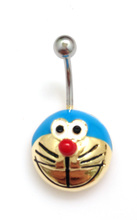 Shin kong jewelry Exclusive special fund The belly button ring umbilical allergy belly dance act the role ofing is tasted sweet Jingle cats
