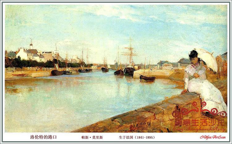欧式风景手绘油画