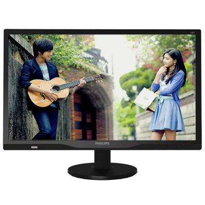 The SF Philips (PHILIPS) 242TE6LB 23.6-inch display TV dual