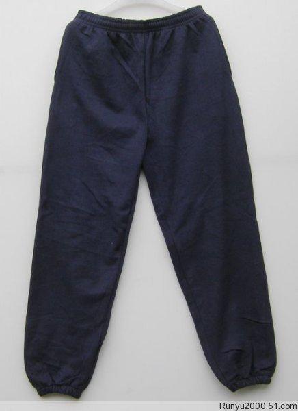 单男卫裤运动裤加厚抓绒保暖裤居家裤宽-运动裤加厚 加绒加厚运动