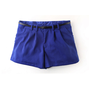 Mr. Cotton spring 2012 new female of pure cotton waist straight tube in leisure shorts hot pants pants X7580