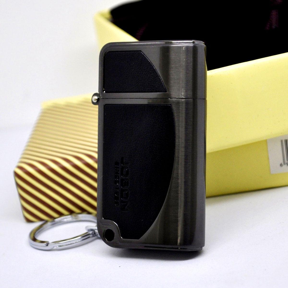 Зажигалка Maslen Zb518 государства в легче отдыха в легкие, кожа технологии рисования брелок мешок подарочный набор