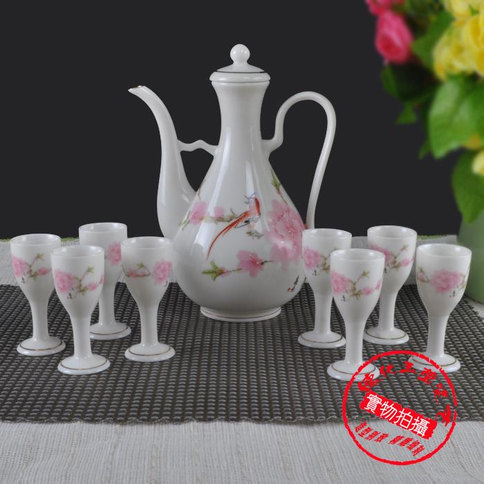 Винный набор Yuying porcelain art