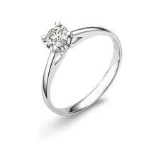 LANHO|蓝色多瑙河 抉择 高品质30分18K金钻石戒指|钻戒图片