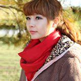精梳澳洲超细100%纯羊毛纯色围巾