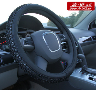 Ling new ice summer auto accessories-car accessories steering wheel cover set