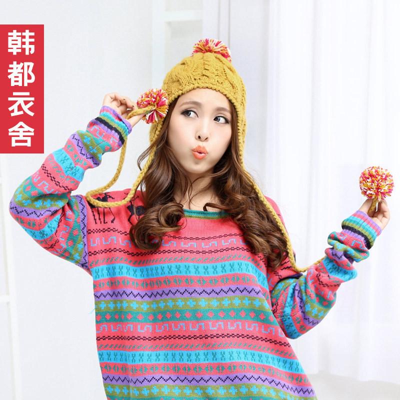 Головной убор Korean homes have clothes kl2045. 2012 1008 Вязаные/трикотажные шапки Разное Женское