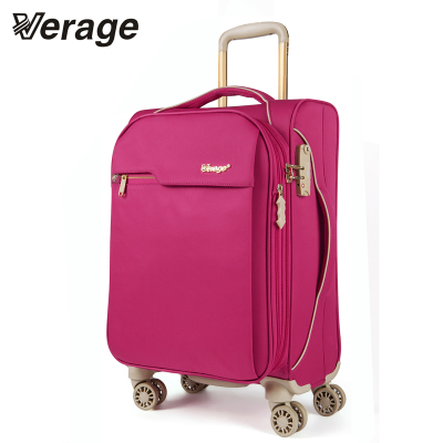 Wei Lijie check box Korea lightweight soft luggage suitcase caster tide female trolley case 20 inch 28