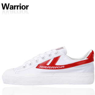 Authentic shoe lovers white red classic canvas shoes sneakers back to force end of beef tendon WB-1A