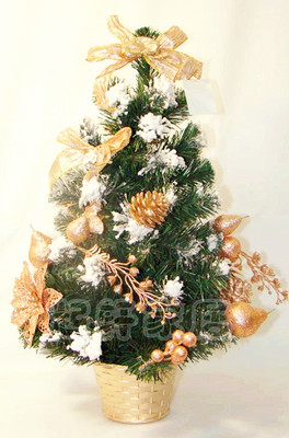 Qi Xuan Boutique Christmas decorations Christmas tree artificial tree decorated hotel desk