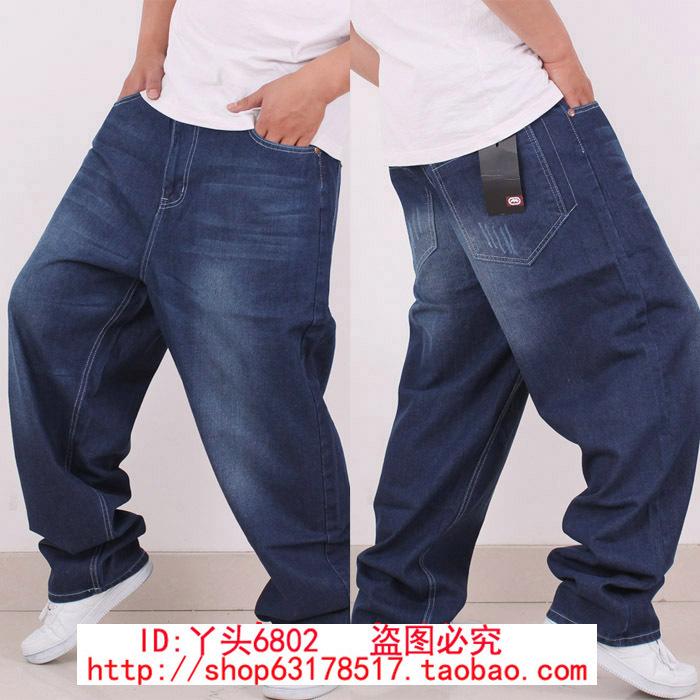 Джинсы мужские Others 83677 Hiphop ECKO Классическая джинсовая ткань