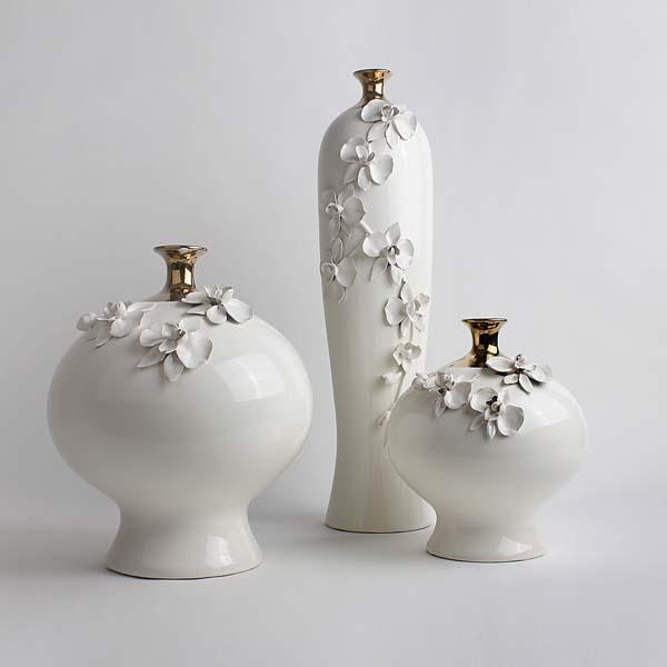 【达芬琪】花瓶摆件 座式 田园摆设 创意礼品 家居饰品 艺术品