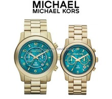 MICHAEL K0RS limited turquoise wrist restoring ancient ways Halle berry MK8315 / MK5815 wear model