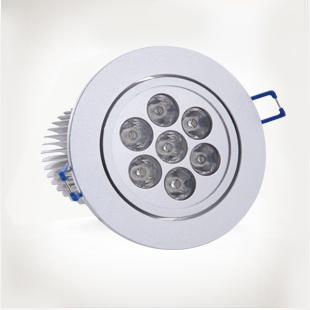 [Numerous] LED spot lights full range of energy-saving lamp high power LED downlight ceiling lamp 7W1007