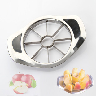 Jane three golden crowns new all stainless steel cut -fruit fruit splitter E9672