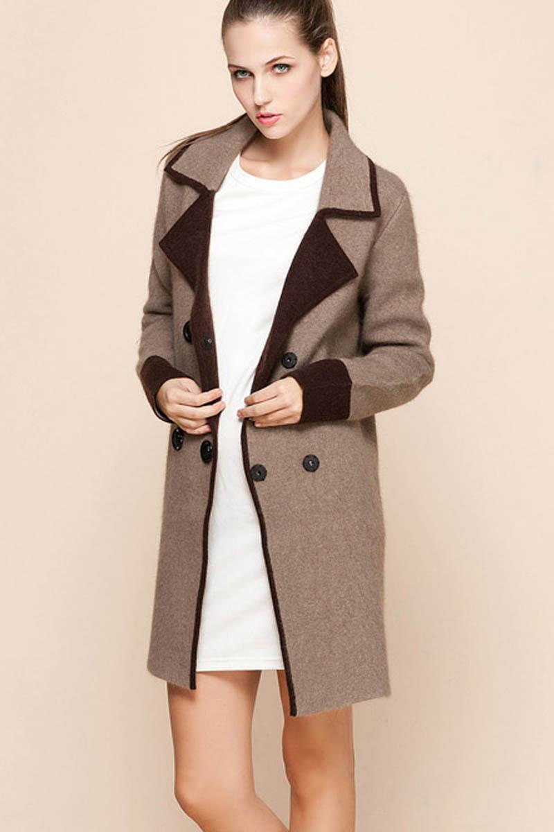 Трикотаж Fashion global village 5690 1580 Осень 2012 Классический рукав Костюмный воротник