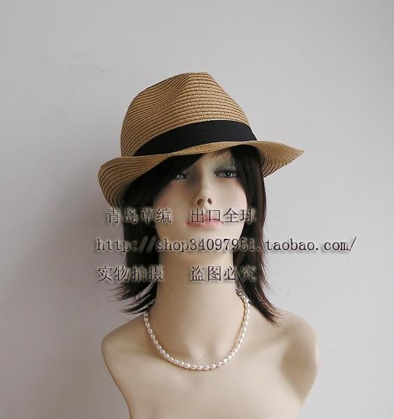 Головной убор Other brands 8009-8-3 Классическая шляпа Солома Разное