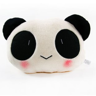 A Panda Car headrest car neck pillow cars supermarket car accessories car ornament decoration