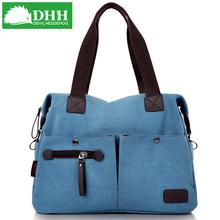 dhh帆布包包新品女包韩版2013新款单肩包斜挎包复古潮时尚女式包