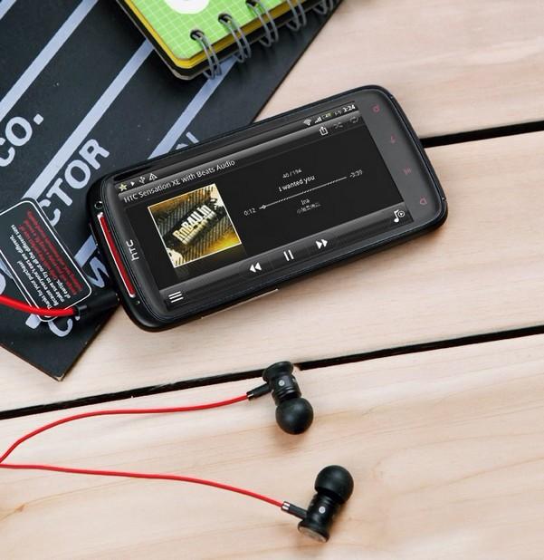 Мобильный телефон HTC Z715e G18 Sensation XE Android / Эндрюс Емкостный сенсорный экран 4,3 дюйма Wi-Fi доступ в Интернет, GPS навигация 1 Гб