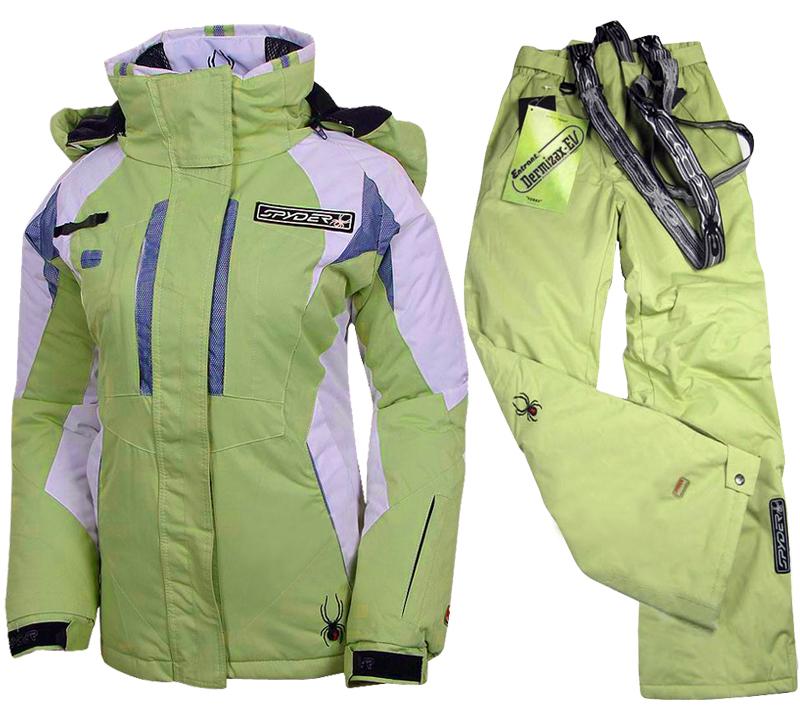 Лыжный брючный костюм Spyder Spyder Нейлон Полиэстер Gore-Tex Китай 2012 Водонепроницаемая, Против ветра, Износостойкая, Удерживающая тепло