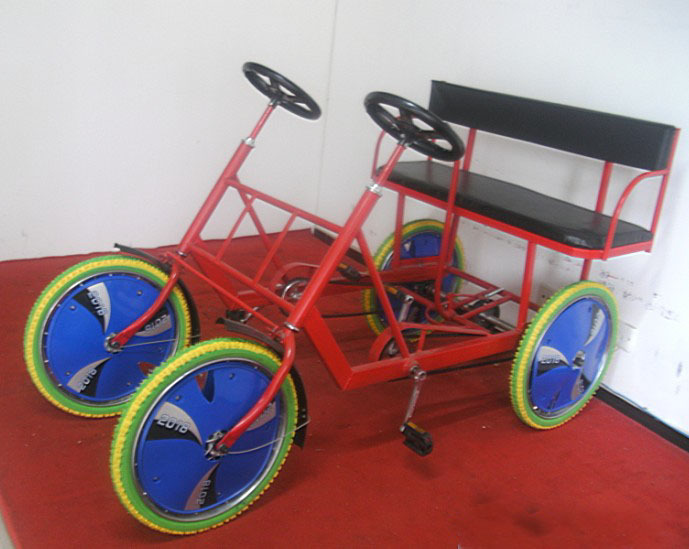 Двухместный / трехместный велосипед Zrf
