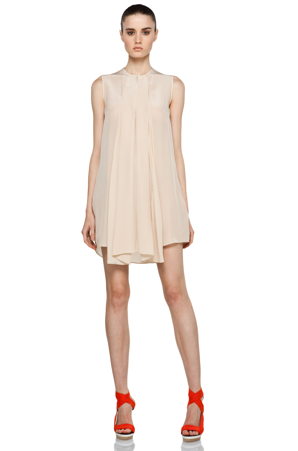 Женское платье   [SOLD OUT] Phillip Lim Sleeveless Double Front Drape Dress