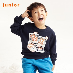 2012 calf printing of Giordano t-shirts boys ' brains and guard clothing 03091513