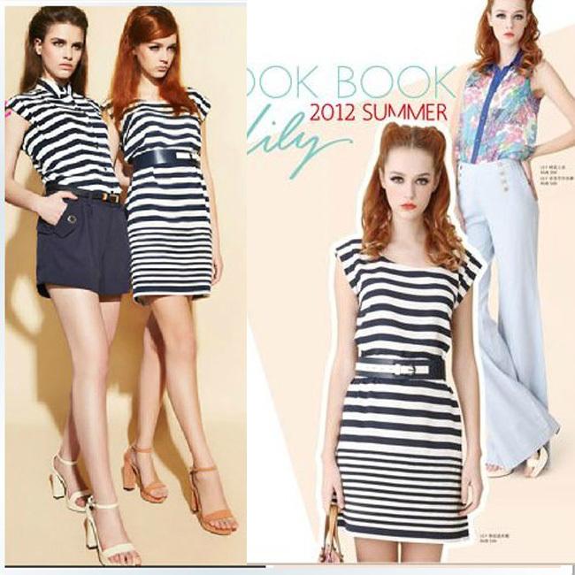 Женское платье LI 2012 Весна 2012 Шифон