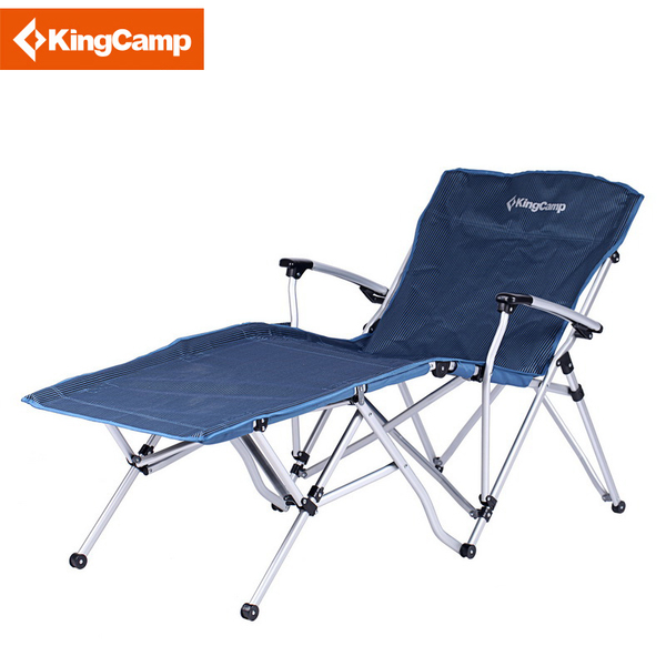 Genuine KingCamp Kang Jian Ye KC8001 reinforced aluminum outdoor portable folding chair luxury
