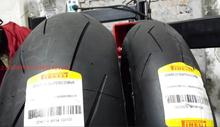 14 annual new pirelli SUPER CORSA SP. 120-70-17, 180-55-17 ZR W in Germany