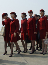 Air China flight attendant filar socks Senior spandex core-spun yarn tights Inside the real full 6 double bag mail