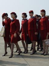 Air China flight attendant filar socks Senior spandex core-spun yarn tights Inside the real full 6 double bag mail