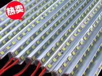 贴片5050LED硬灯条 60灯72灯 展柜珠宝柜台灯条 铝条灯UV型带铝槽