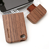 GeekcookiPhone44S cellphone shell black walnut shell the Apple shell bamboo protective sleeve wooden