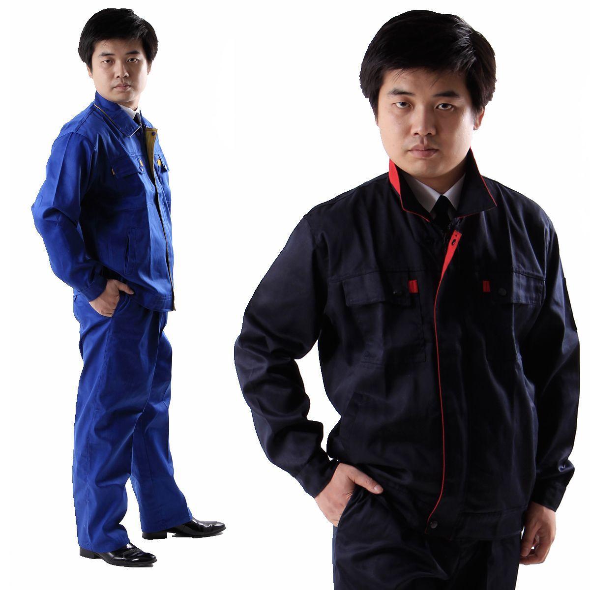 圣安迪 工作服 男式工作服 工程服 汽修服装 长袖工作服 GF-202