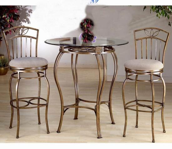 田园铁艺桌子 茶几时尚茶桌 简约休闲桌 玻璃玄关圆桌 茶几欧式图片