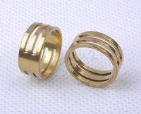 批发 DIY手工饰品工具配件 纯铜 厚实 手工串珠工具戒指
