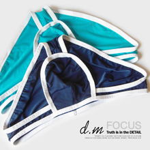 CIOKICX men's underwear Low waist sexy ice silk ultra-thin U triangle smooth convex capsule with transparent perspective