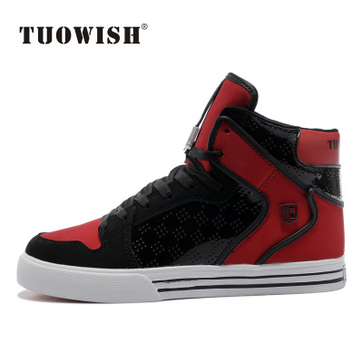Tuowish breathable sports high state of Korean shoes men high shoes men's hip-student-hop shoes