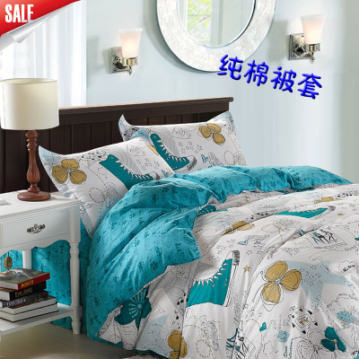 Cotton twill printed quilt quilt cotton linens 2.1.8 * 1.6 * 2.22 * 2.32.2 * 2.4 pairs of eleven