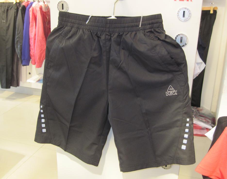 Спортивные шорты Peak f302211 Для мужчин Шнурок Полиэстер ||property3014877|| Бег % Вышивка % Полиэстер