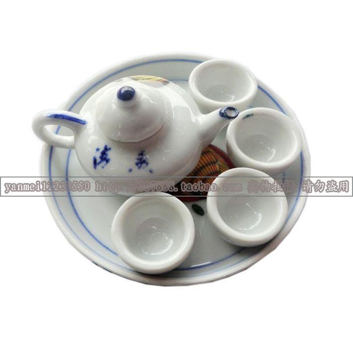 Декоративные украшения керамика Panda логотип , Мальчик картину , Сливы цветок дизайн