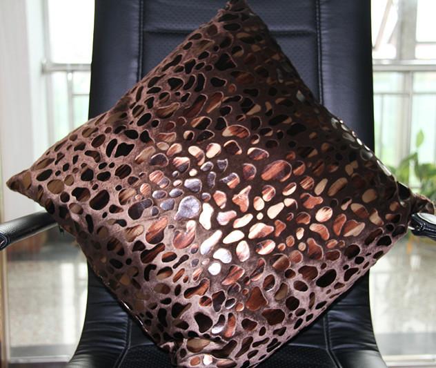 Подушка декоративная Чаевые плюшевые подушки охватывает каменный цветок подушку обложки PP хлопка Азиатский стиль Плюш