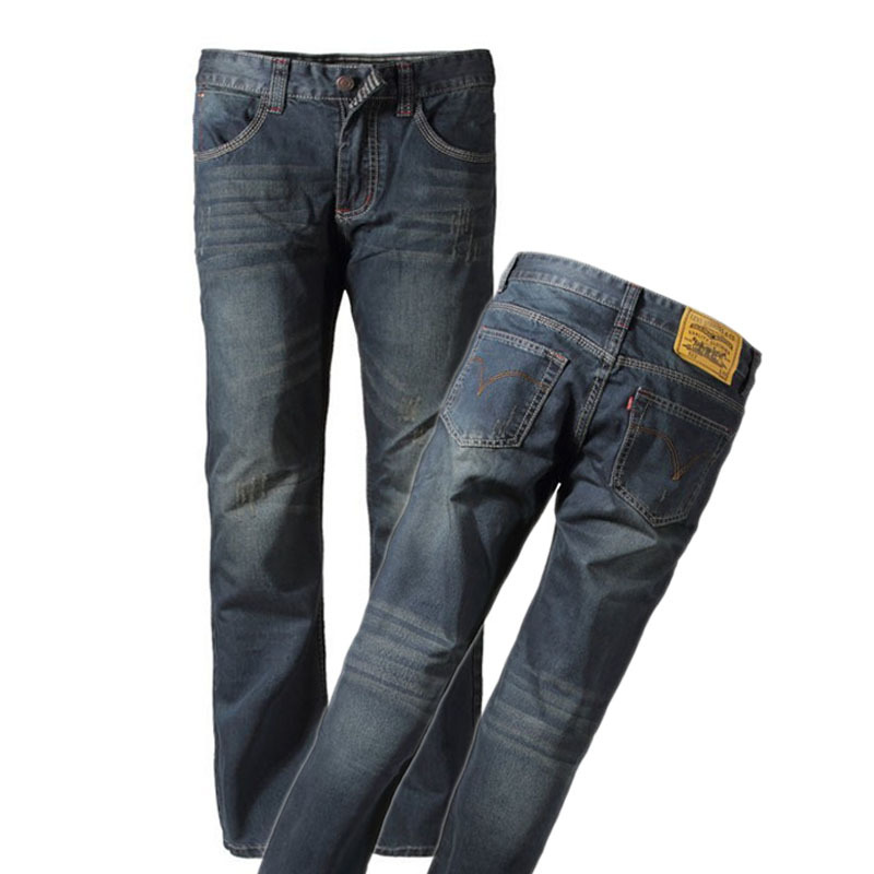 Джинсы мужские Mexican 716 Прямые брюки Тонкая джинсовая ткань