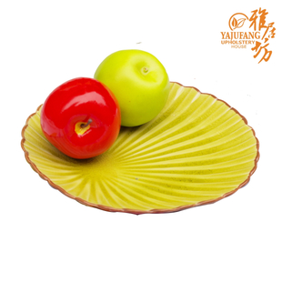 Agile square enamel plate large creative fashion plate ceramic fruit bowl candy dish special offer clearance