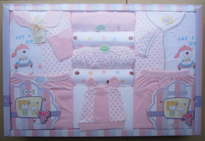 The new high-end suits newborn baby gift box set of 9 free shipping
