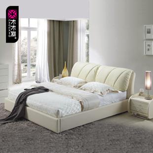 кожаная кровать Kaka Mo  1.8/1.5 Bed